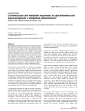 """Báo cáo y học: """"Cardiovascular and metabolic responses to catecholamine and sepsis prognosis: a ubiquitous phenomenon"""""""