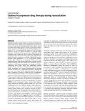 """Báo cáo y học: """"Optimal vasopressor drug therapy during resuscitation"""""""