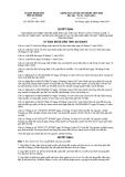 Quyết định số 45/2011/QĐ-UBND