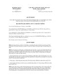 Quyết định số 1590/QĐ-BTTTT