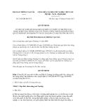 Quyết định số 2342/QĐ-BGTVT