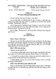 Thông tư số 29/2011/TT-BLĐTBXH