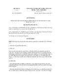 Quyết định số 1758/QĐ-BNV
