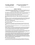 Thông tư liên tịch số 26/2011/TTLT-BLĐTBXH-BQP