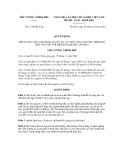 Quyết định số 1719/QĐ-TTg