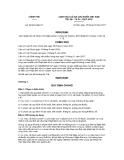 Nghị định số 93/2011/NĐ-CP