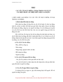 TÀI LIỆU HUẤN LUYỆN AN TOÀN, VỆ SINH LAO ĐỘNG CHO NGƯỜI SỬ DỤNG LAO ĐỘNG - BÀI 5