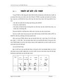 Thực hành tính kết cấu công trình STAAD.PRO 4 - Bài 11