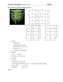 Thực hành tính kết cấu công trình STAAD.PRO 4 - Bài 2
