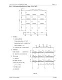 Thực hành tính kết cấu công trình STAAD.PRO 4 - Bài 4