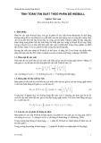 Bài giảng Hướng dẫn thực hành Kỹ thuật Bờ biển - Phần 3