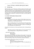 Công tác quy hoạch và ra quyết định - Chương 3