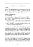 Công tác quy hoạch và ra quyết định - Chương 5