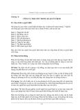 Công tác quy hoạch và ra quyết định - Chương 8