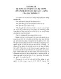 TỰ RUNG VÀ MẤT ỔN ĐỊNH CỦA QUÁ TRÌNH CẮT KIM LOẠI - CHƯƠNG  3