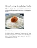 Mận muối – nét đẹp văn hóa ẩm thực Nhật Bản