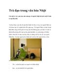 Trà đạo trong văn hóa Nhật