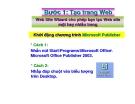 Hướng dẫn tạo trang web publisher