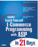 Teach Yourself  E-Commerce Programming with ASP in  21 Days phần 1