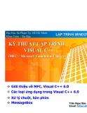 Giới thiệu về MFC Microsoft Visual C ++ 6.0