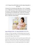 An Trĩ Vương: Xua tan nỗi lo bệnh trĩ, táo bón ở phụ nữ mang thai và cho con bú