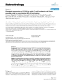 """Báo cáo y học: """"Elevated expression of CD30 in adult T-cell leukemia cell lines: possible role in constitutive NF-κB activation"""""""