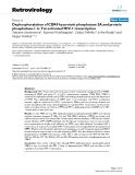 "Báo cáo y học: ""Dephosphorylation of CDK9 by protein phosphatase 2A and protein phosphatase-1 in Tat-activated HIV-1 transcription"""