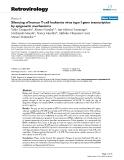 "Báo cáo y học: "" Silencing of human T-cell leukemia virus type I gene transcription by epigenetic mechanisms"""