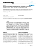 "Báo cáo y học: "" The retrovirus RNA trafficking granule: from birth to maturity"""