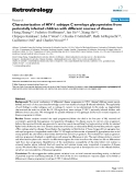 "Báo cáo y học: ""Characterization of HIV-1 subtype C envelope glycoproteins from perinatally infected children with different courses of disease"""
