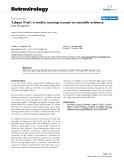 "Báo cáo y học: "" 'Libyan Trial': a verdict running counter to scientific evidence"""