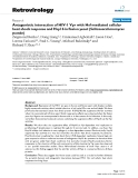"""Báo cáo y học: """" Antagonistic interaction of HIV-1 Vpr with Hsf-mediated cellular heat shock response and Hsp16 in fission yeast (Schizosaccharomyces pombe)"""""""