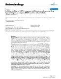 """Báo cáo y học: """" In-Silico docking of HIV-1 integrase inhibitors reveals a novel drug type acting on an enzyme/DNA reaction intermediate"""""""