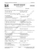 Đề thi thử môn Hóa - Đề 004