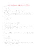 JAVA for dummies - nhập môn JAVA (Part  3)