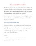 Làm sao chèn CSS vào trang Web