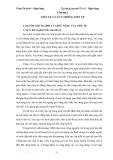 Tập bài giảng môn Tiền tệ ngân hàng -  Chương 1: Tiền tệ và lưu thông tiền tệ