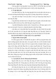 Tập bài giảng môn Tiền tệ ngân hàng - Chương 2: Lạm phát tiền tệ
