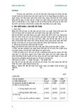 Quản trị ngân hàng - Tìm hiểu bảng cân đối kế toán - 1