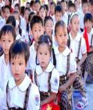 Tìm hiểu các điều kiện, động lực và quy luật của sự phát triển tâm lý trẻ em lứa tuổi học sinh tiểu học -Lê Ngọc Lan