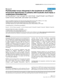 """Báo cáo y học: """" Pentobarbital versus thiopental in the treatment of refractory intracranial hypertension in patients with traumatic brain injury: a randomized controlled trial"""""""