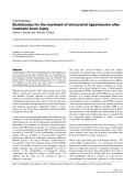 """Báo cáo y học: """"Barbiturates for the treatment of intracranial hypertension after traumatic brain injury"""""""