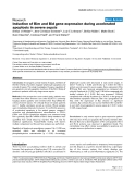 """Báo cáo y học: """"Induction of Bim and Bid gene expression during accelerated apoptosis in severe sepsis"""""""