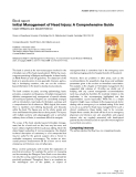 "Báo cáo y học: ""Initial Management of Head Injury: A Comprehensive Guide"""