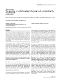"""Báo cáo y học: """"The genetics of acute lung injury: looking back and pointing the way forward"""""""
