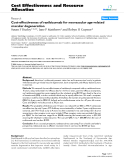 """Báo cáo y học: """" Cost-effectiveness of ranibizumab for neovascular age-related macular degeneration"""""""