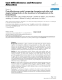 """Báo cáo y học: """"Cost-effectiveness model comparing olanzapine and other oral atypical antipsychotics in the treatment of schizophrenia in the United States"""""""