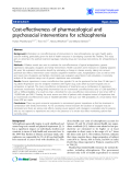 """Báo cáo y học: """"Cost-effectiveness of pharmacological and psychosocial interventions for schizophrenia"""""""