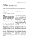 """Báo cáo y học: """"rogesterone in traumatic brain injury: time to move on to phase III trials"""""""