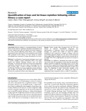 """Báo cáo y học: """"Quantification of lean and fat tissue repletion following critical illness: a case report"""""""
